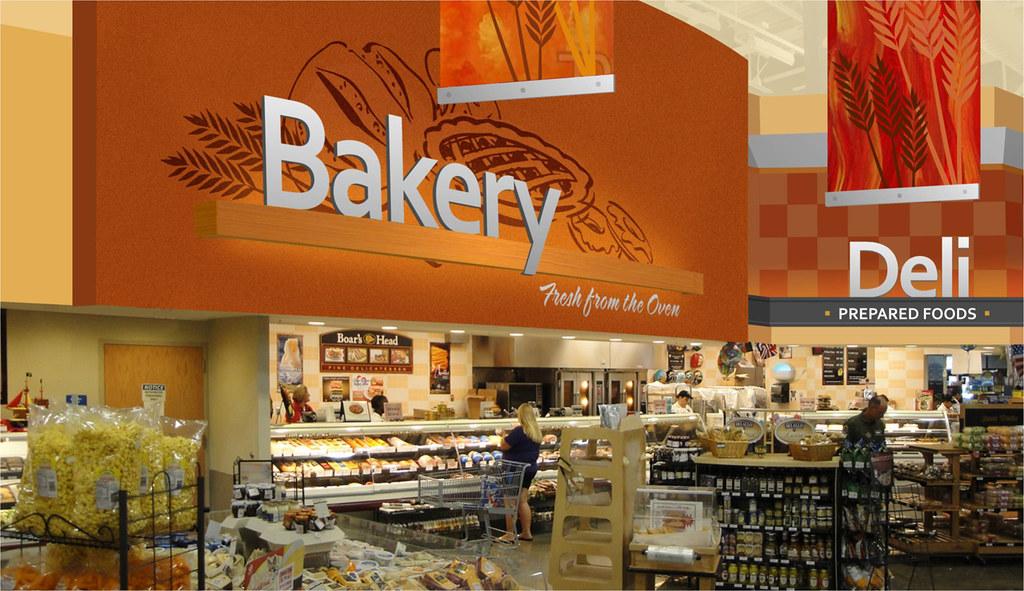 Interior Bakery Design | Bakery Department | Interior Mark ...