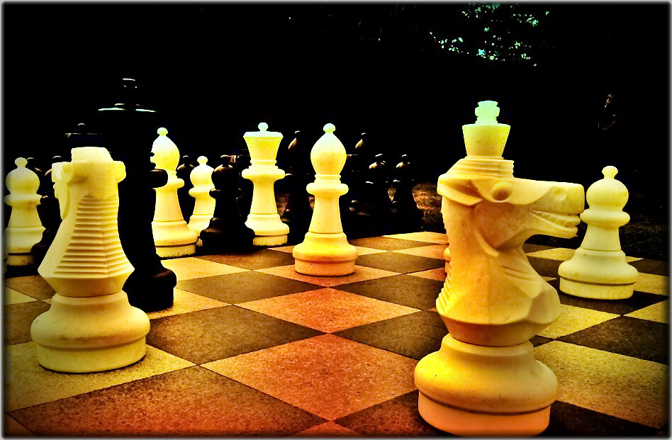 Chess | (Taken using the Camera 360 app on my mobile phone a… | Flickr