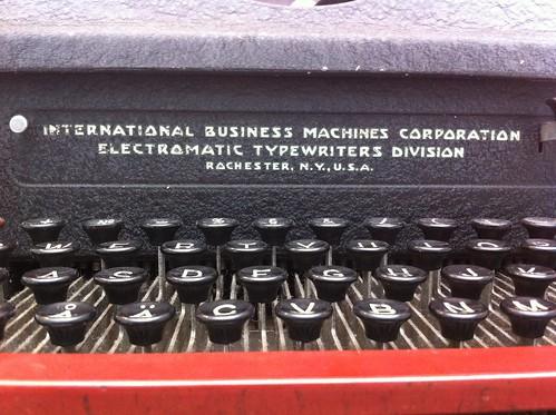 Electromatic Typewriter | by andyp uk