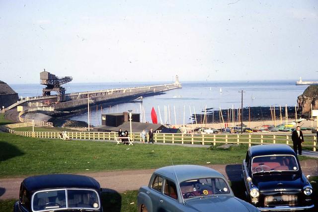 Tynemouth Pier, 1966