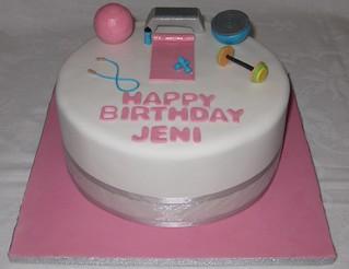 Gym Cake | by Sweeney Cakes