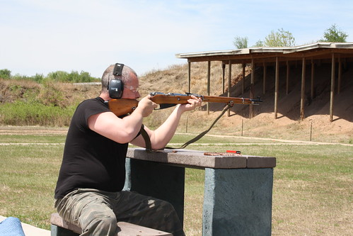 Shooting range,Cheney Lake state park