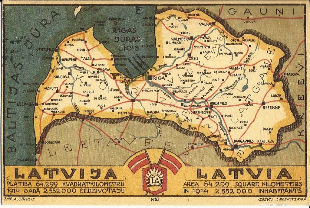 Latvijas Karte Annette Flickr