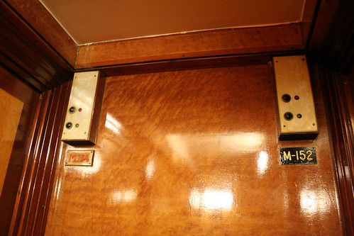 Queen Mary - Room M154 Is Really Room M134 (Original Nameplate Exposed) | by Miss Shari
