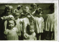 Margaret McGuckin and other children Narareth House, nursery