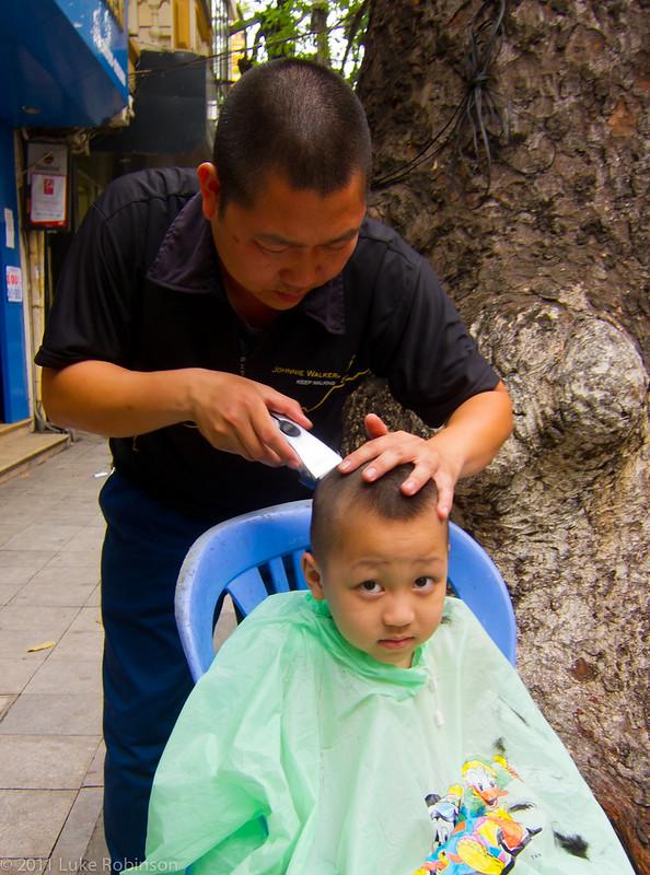 Whatchu lookin' at, Old Quarter, Hanoi