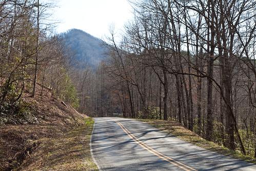 mountains landscape view northcarolina smokies