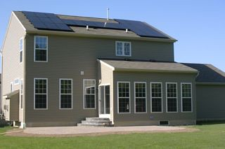 Buffalo, NY residential solar installation | by Solar Liberty