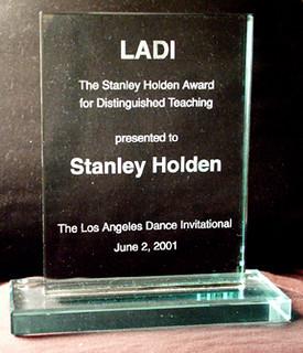Stanley Holden's award   by LADI1999