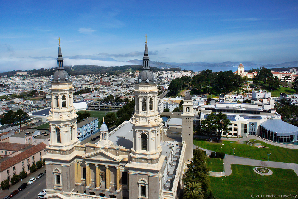 University Of San Fransisco >> Saint Ignatius Church And The University Of San Francisco Flickr