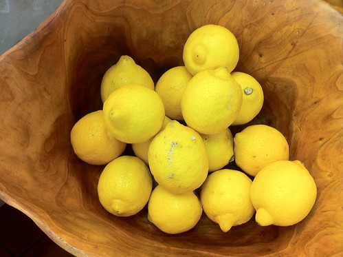 Life is Just a Bowl of Lemons with which to Make Lemonade