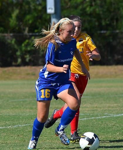 IMG Academy girls soccer program | IMG Academy girls soccer