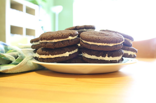 AND THEN I MADE OREO COOKIES. | by notamaiar