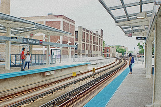 Red Line at Fullerton in Chicago