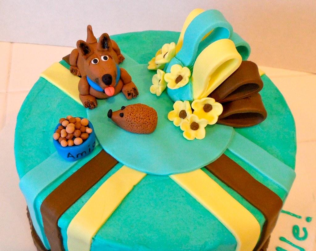Michellestastycakes Happy Birthday Cake For Dog Lovers