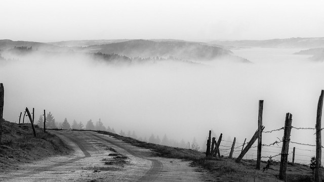 Descsente dans le brouillard