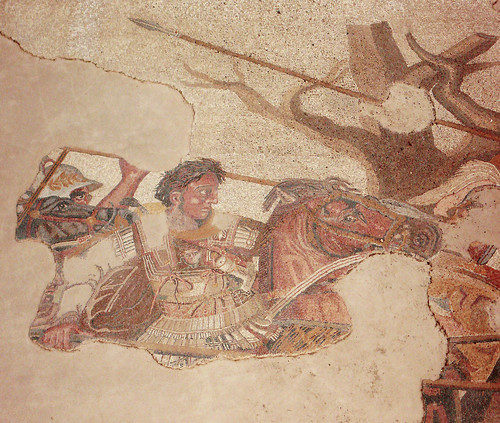 alexander the great charging at darius iii | by Xuan Che