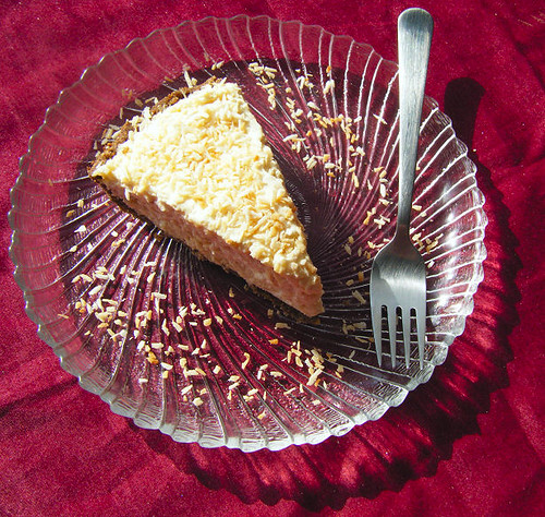 Healthy Coconut Cream Pie - Low Carb and Gluten-Free! | by HealthyIndulgencesBlog