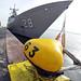 USS Boone y USS Thach en Montevideo