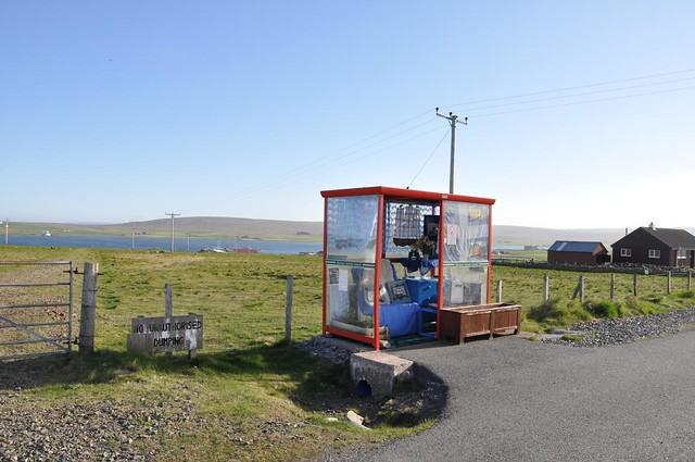 The famous Unst bus shelter!