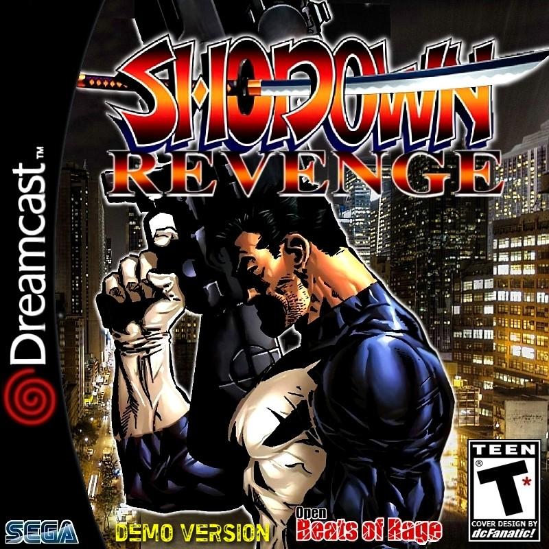 Showdown Revenge OpenBor DEMO | Custom Cover for Dreamcast g