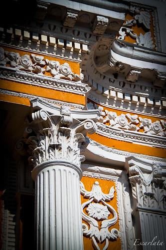 Detalle del Templo de los Remedios