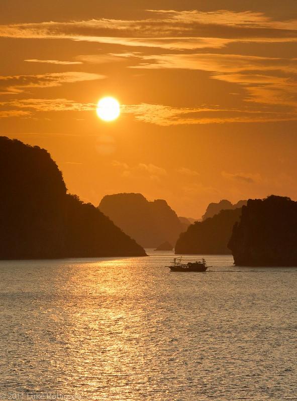 Ha Long Bay Sunrise