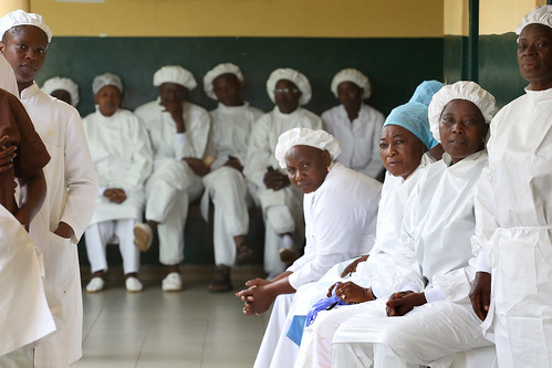 Health clinic staff members | by World Bank Photo Collection
