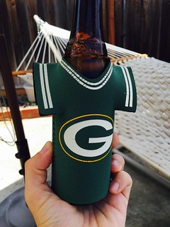 Just kickin back with a cold one that can't wait for the new season.   by silent (e)