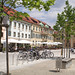 Pfaffenhofen a.d.Ilm, City place, Germany