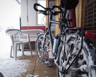 Snowy bicycle | by najuste
