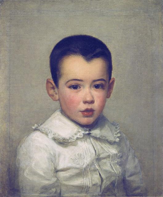 Marie Bracquemond: Pierre Bracquemond as child (1878)