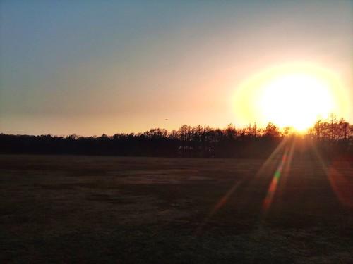 sunset obihiro 帯広 グリーンパーク camera360