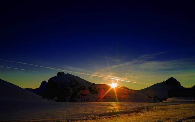 Falzarego ultimo sole