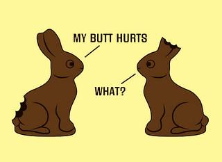Chocolate Bunny Joke | by card karma