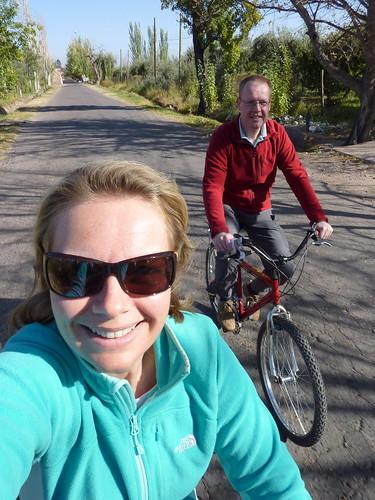 Maipu - wijnroute op de fiets 2