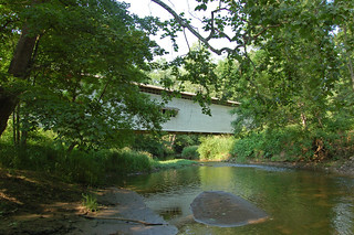 Indiana, Parke County, Portland Mills Covered Bridge (11,074b) | by EC Leatherberry