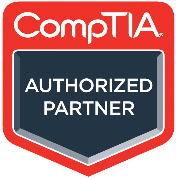 Image result for comptia authorized partner logo