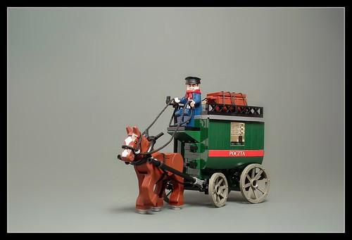 Polish mail coach