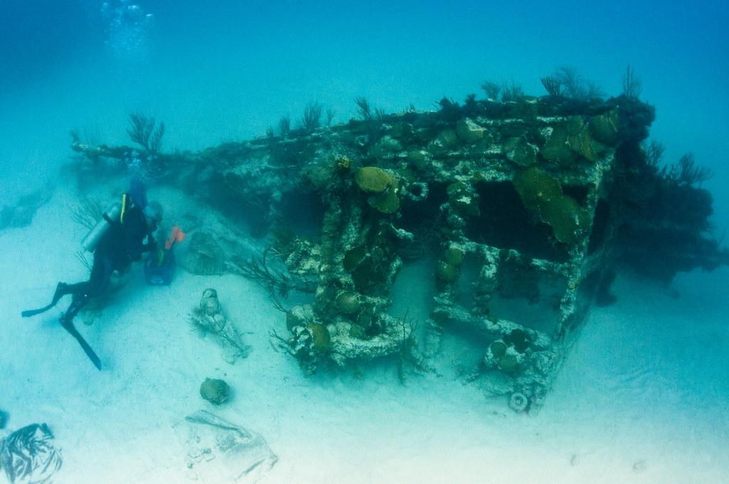 Shipwreck in Bermuda