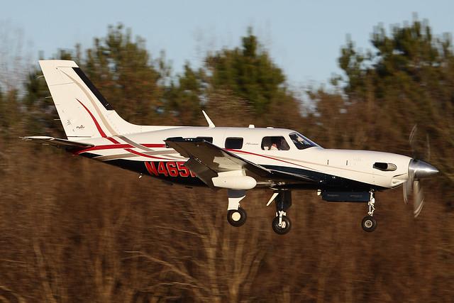 Piper PA-46-500TP Malibu Meridian N465ME