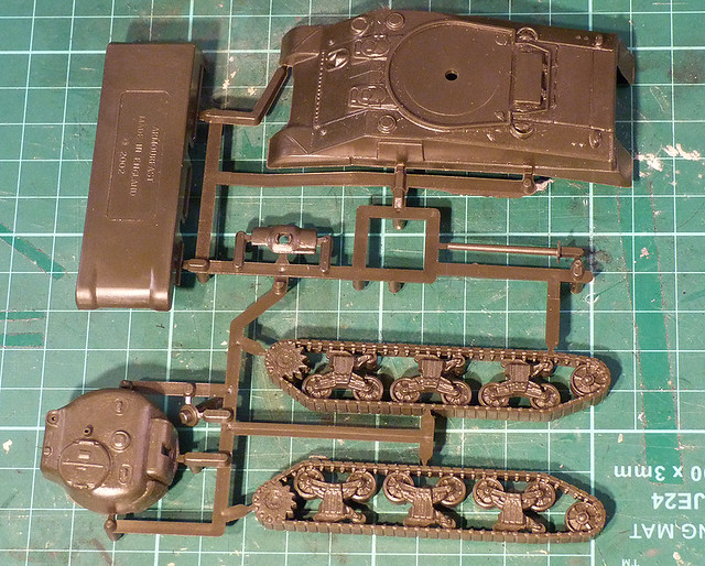 Armourfast 1/72 Sherman M4 out of the box