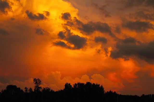 MAP3021 Sunset Drama Clouds 7/5/11