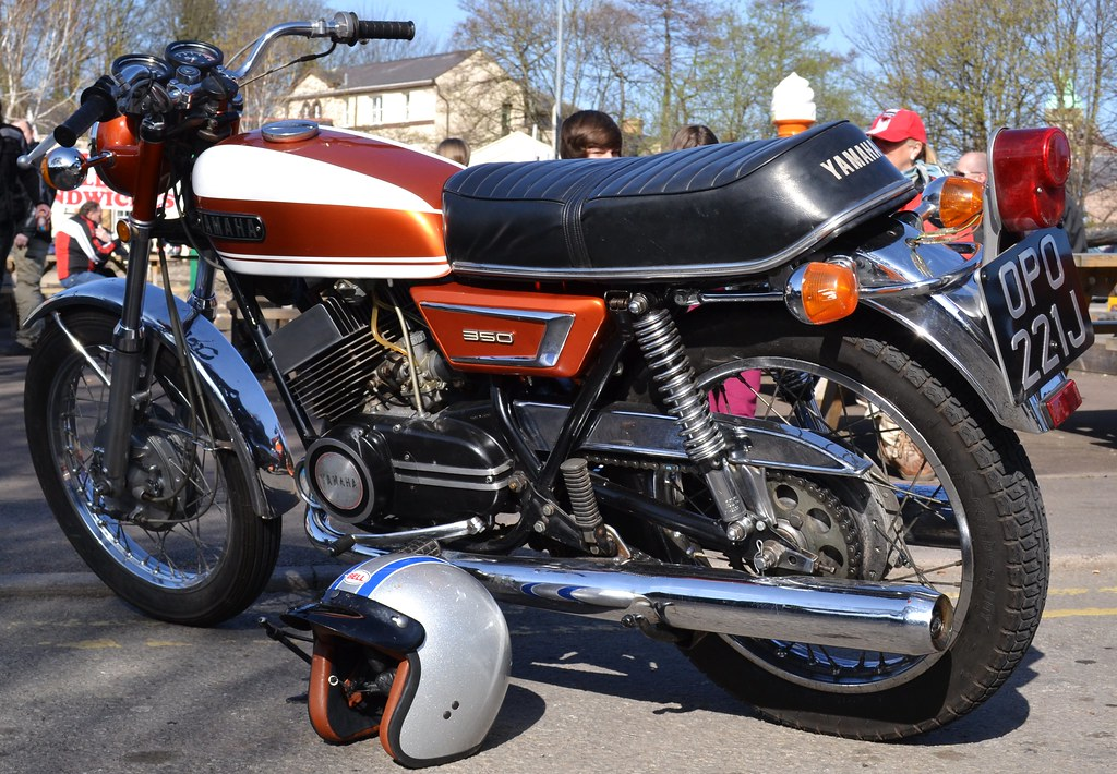 Yamaha RD 350 Twin | One of only 20 left in the UK  Seen in