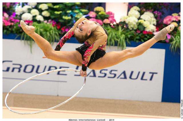 Neviana VLADINOVA (BUL), Qualification 40ème Internationaux GR Corbeil Essonne