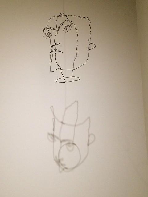 Calder self-portrait