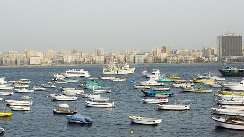 Small and bigger boats of Alexandria | by Kodak Agfa