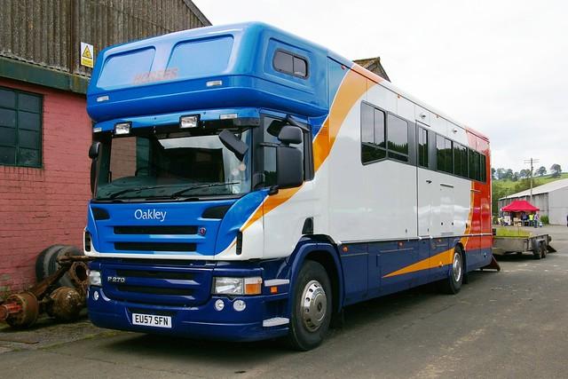 Scania P270-OAKLEY Horsebox Ware Herts.