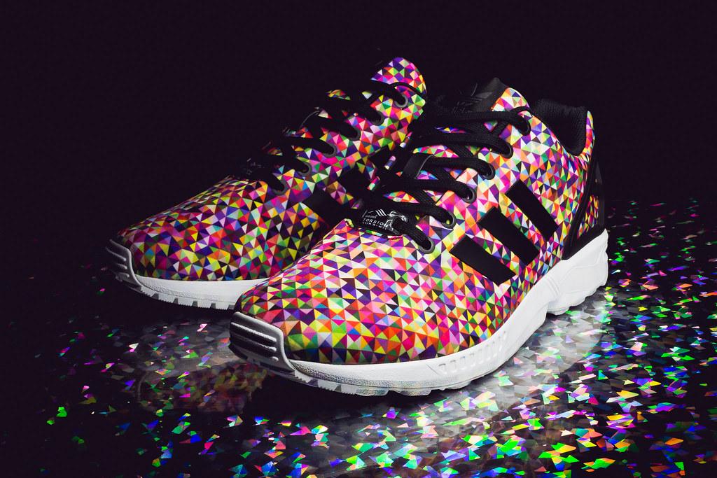 zx flux multicolor prisms