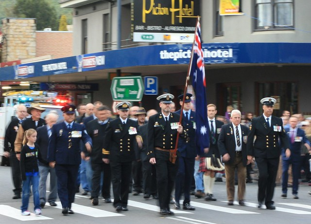 Picton ANZAC Day March 2014